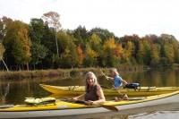 Kayaking on South Bar Lake