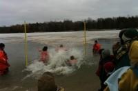 Winterfest's annual 'Polar Bear Dip'